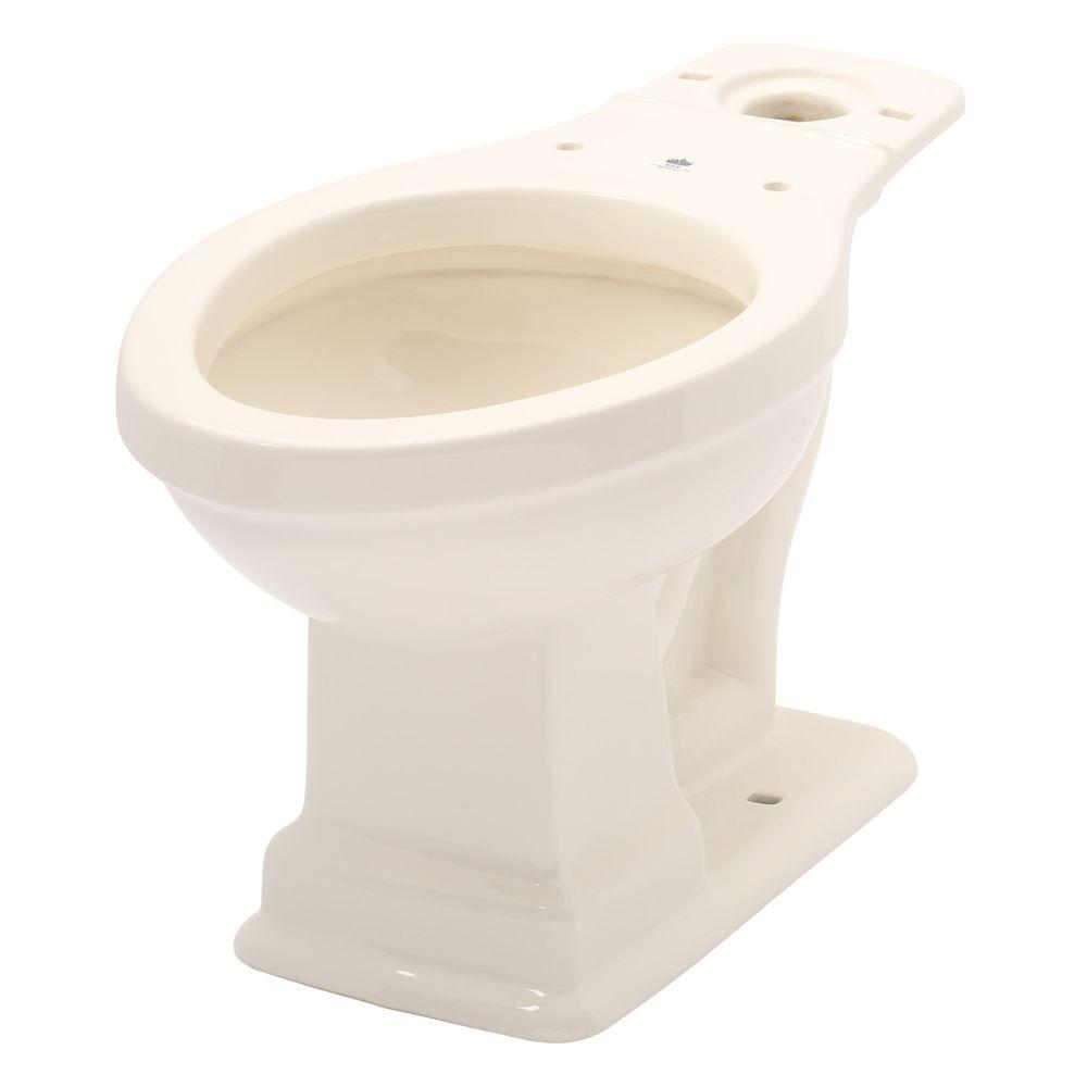 Elizabethan Classics English Turn 1.6 GPF Elongated Toilet Bowl Only in Bisque