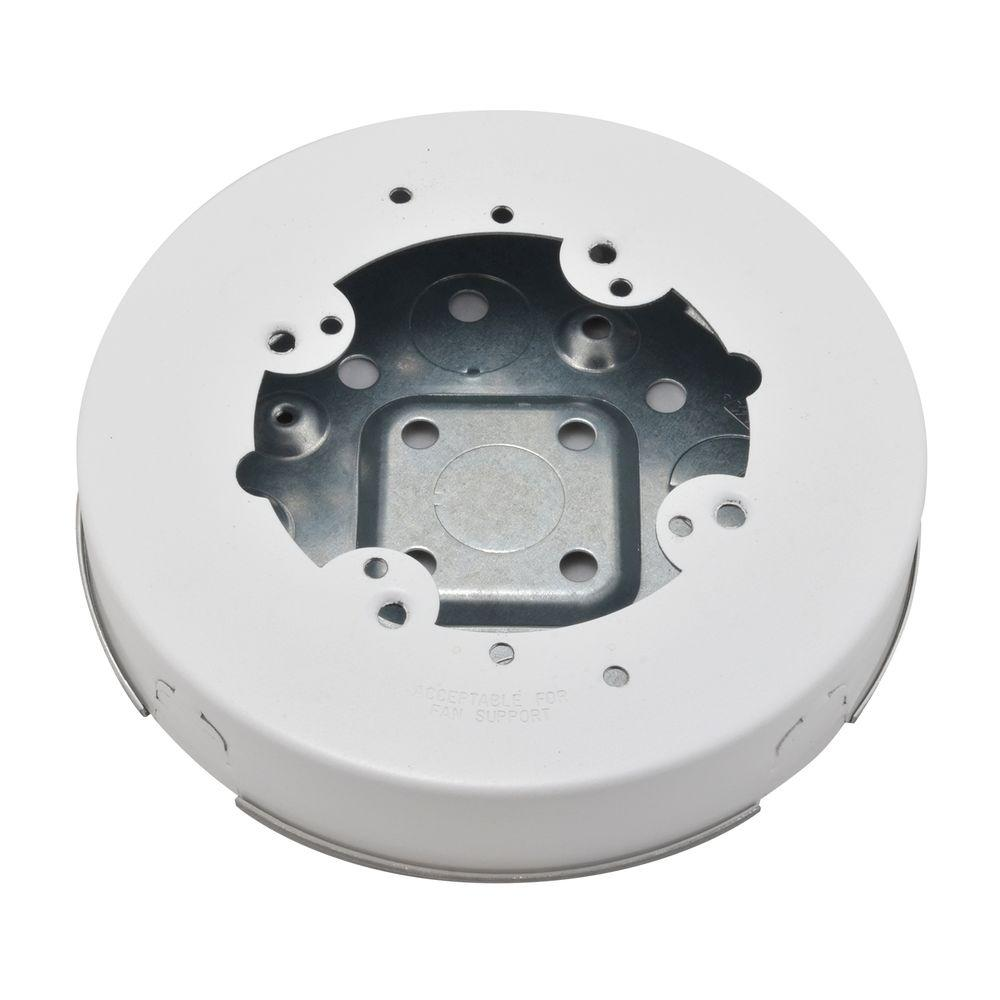 700 Series Raceway Circular Outlet Box-BW4F - The Home Depot