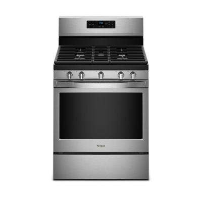 30 in. 5 cu. ft. Gas Range with Fan Convection Cooking in Fingerprint Resistant Stainless Steel