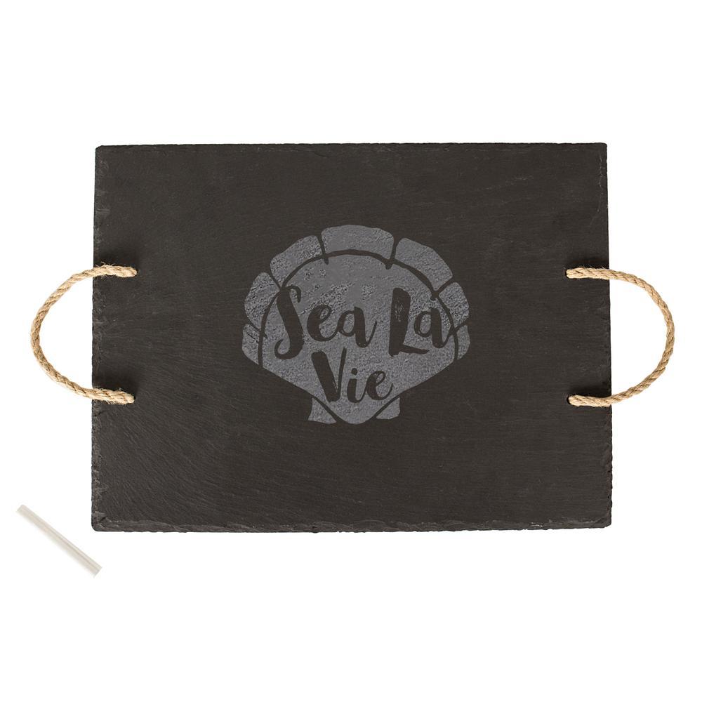Sea La Vie Slate Serving Tray