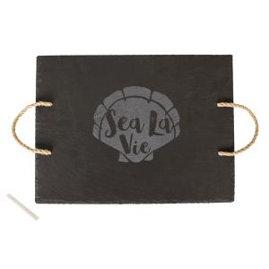 Sea La Vie Slate Serving Tray by