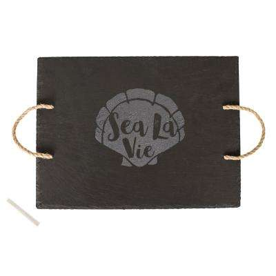 Sea La Vie Slate Serving Tray