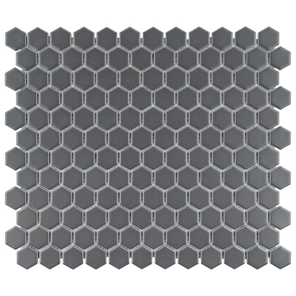 Malibu Vintage Tile-Small Hexagon California Mauve
