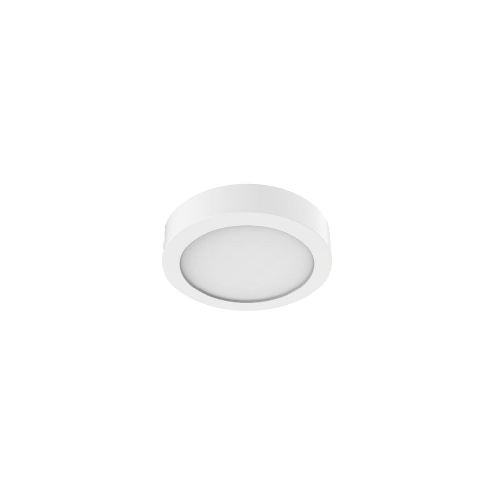 New 7 Round Led Flush Mount Ceiling Light 4000k Kitchen: EarthTronics Panel Light 5.5 In. Round 4000K 700 Lumen 11