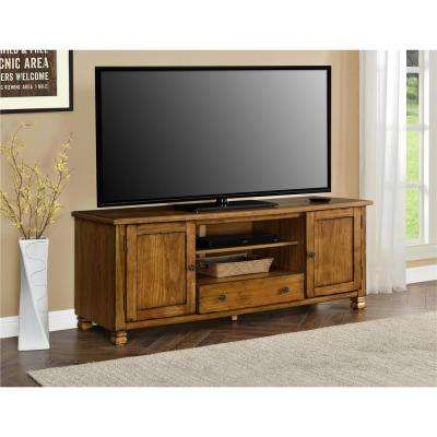 San Antonio Tuscany Oak Storage Entertainment Center