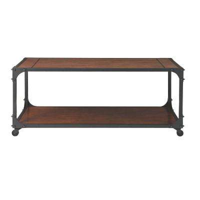 Industrial Empire Black Coffee Table