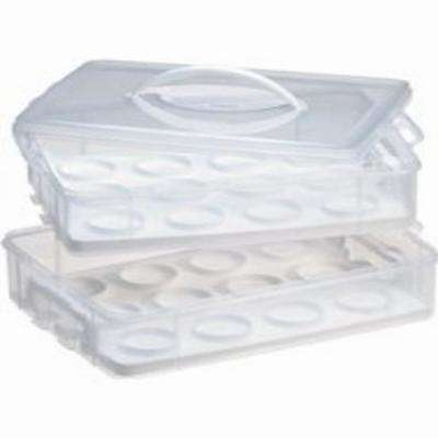 Snap N Stack Cupcake Carrier 2-Layer