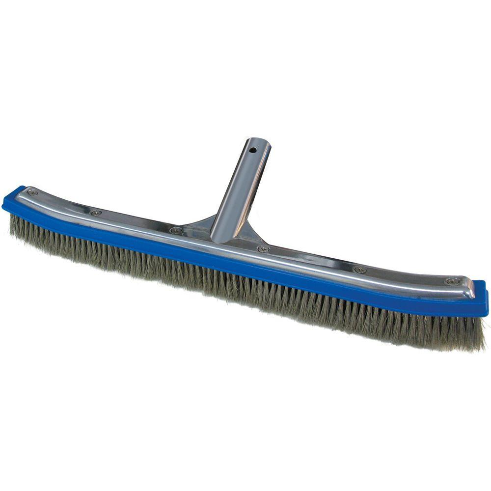 18 in. Classic Aluminum Back Algae Brush