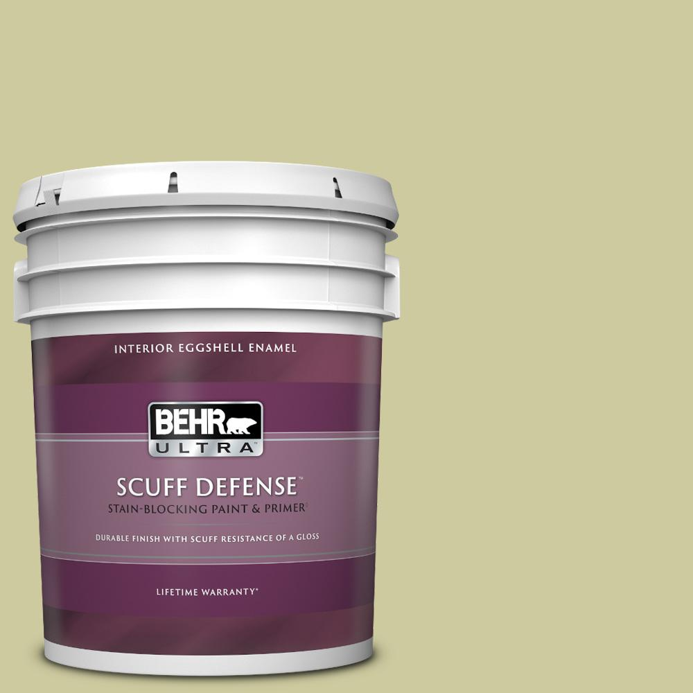 Reviews For Behr Ultra 5 Gal Mq4 41 Anjou Pear Extra Durable Eggshell Enamel Interior Paint Primer 275405 The Home Depot