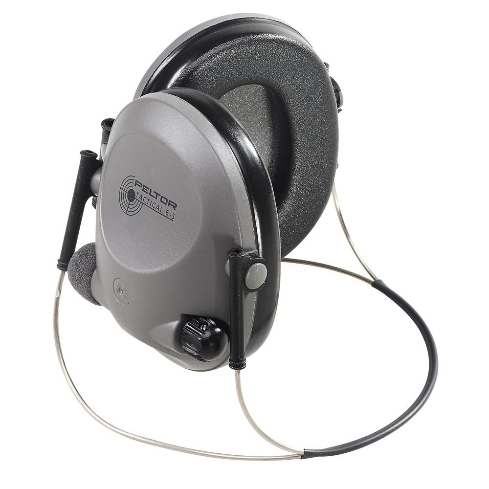 Peltor Sport Soundtrap/Tactical 6-S Gray with Black Accents Electronic Neckband