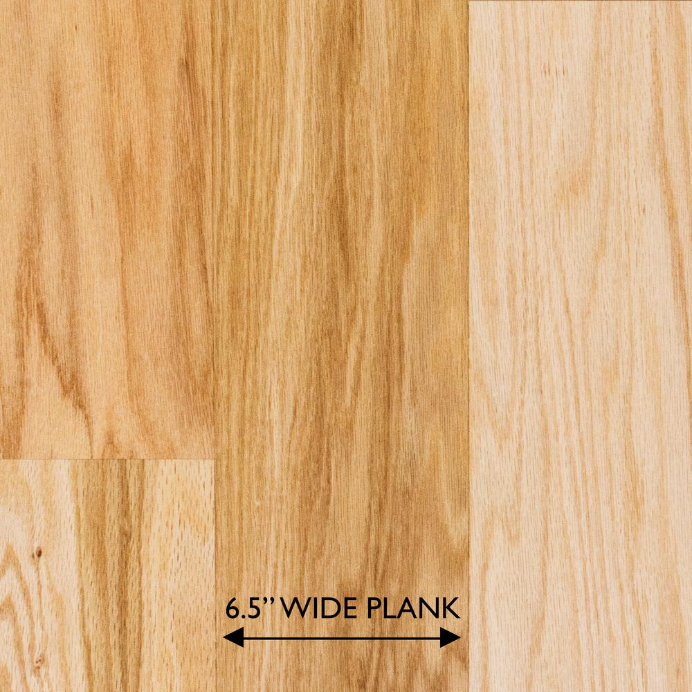 Red Oak Natural 3/8 in. Thick x 6-1/2 in. Wide x