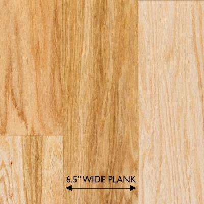 Red Oak Natural 3/8 in. Thick x 6-1/2 in. Wide x Random Length Engineered Hardwood Flooring (33.3 sq. ft. / case)