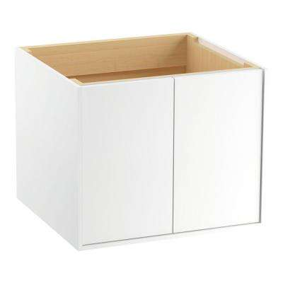 Jute 24 in. Vanity Cabinet Only in Linen White