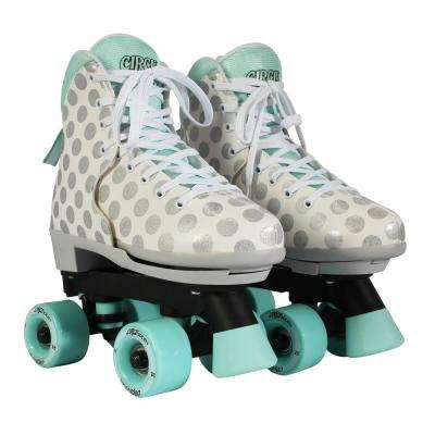 Girls Size 12-3 Craze Sugar Drops Skates