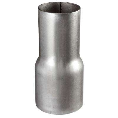 4 in. to 3.5 in. Blowing Hose Steel Reducer