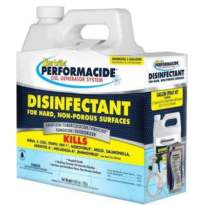 Performacide 1 Gal. Disinfectant Spray Kit for Hard Non-Porous Surfaces (3-Pack)