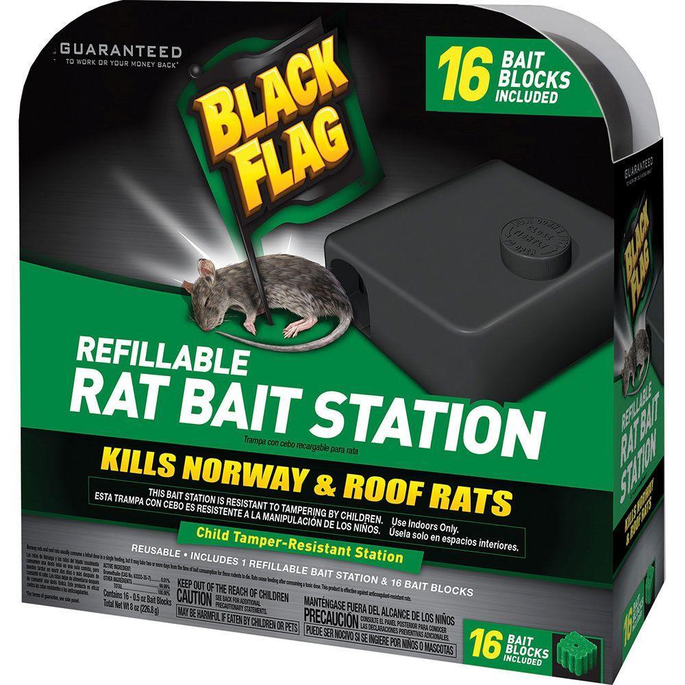 Refillable Rat Bait Station