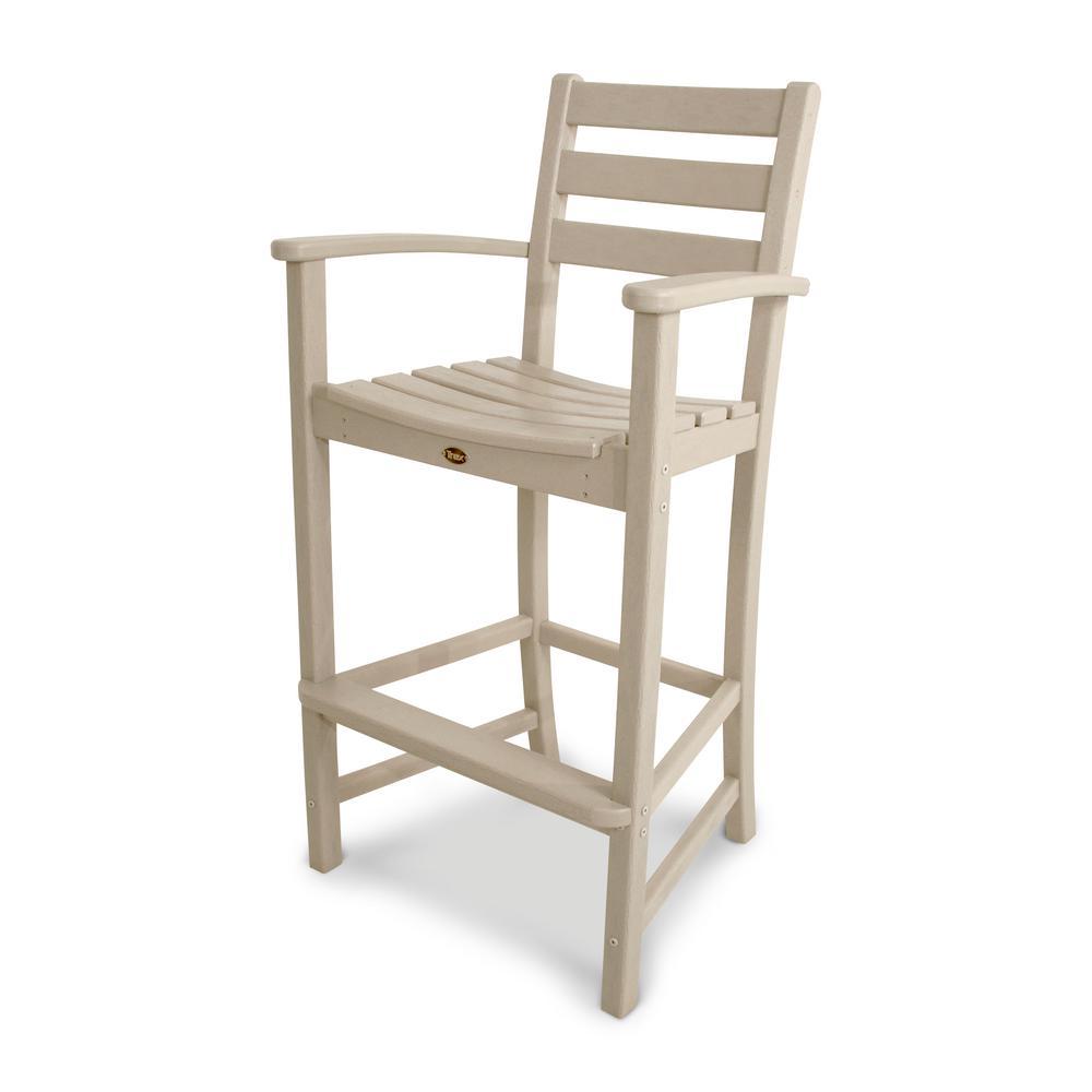 Monterey Bay Sand Castle Patio Bar Arm Chair