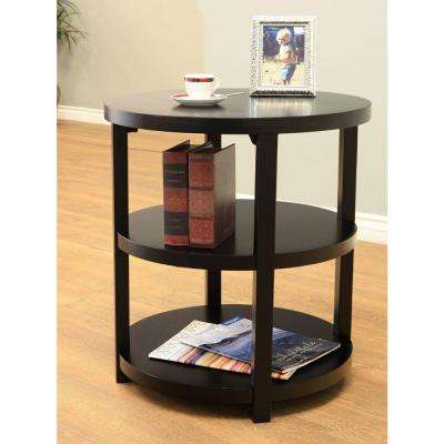 Newbury Black End Table