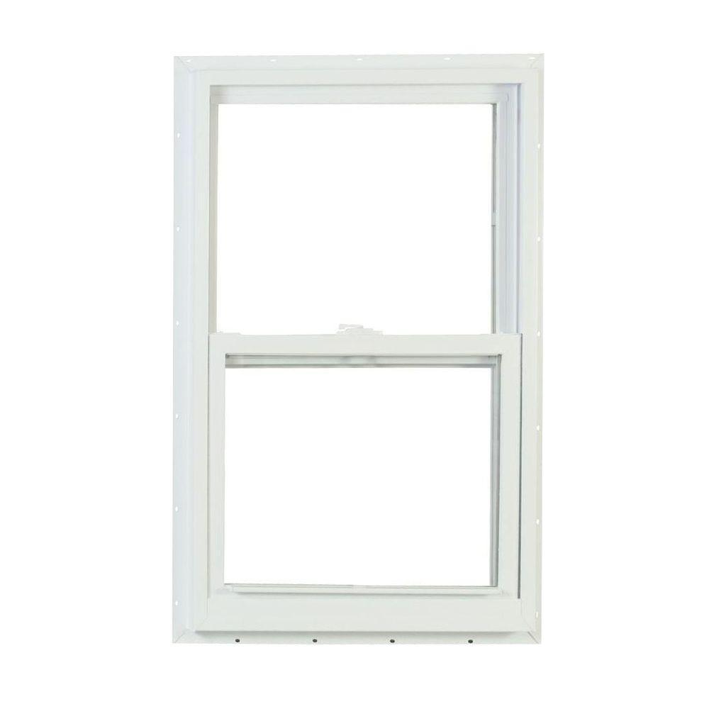 American Craftsman 24 in. x 36 in. 2300 Series Single Hung Vinyl Window - White