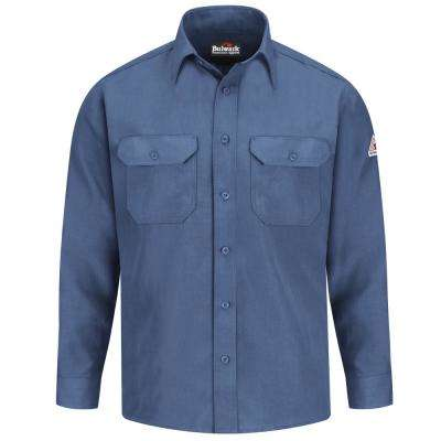 Nomex IIIA Men's X-Large Gulf Blue Uniform Shirt