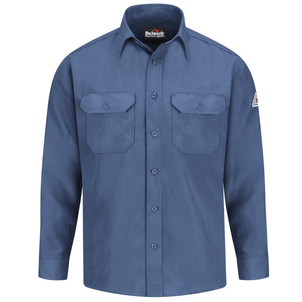 Nomex IIIA Men's Medium (Tall) Gulf Blue Uniform Shirt