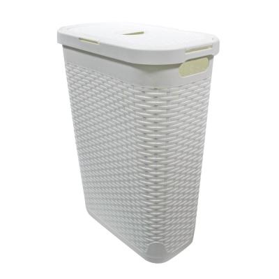 Modern Homes 40 L Laundry Hamper White