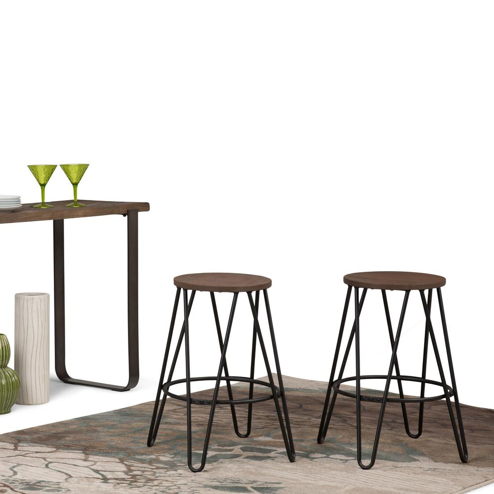 Metal counter height stools bar stoolsmetal stools industrial stool for kitchen island metal Home depot wood bar stools
