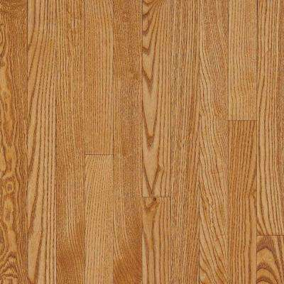 Take Home Sample - Plano Marsh Oak Solid Hardwood Flooring - 5 in. x 7 in.