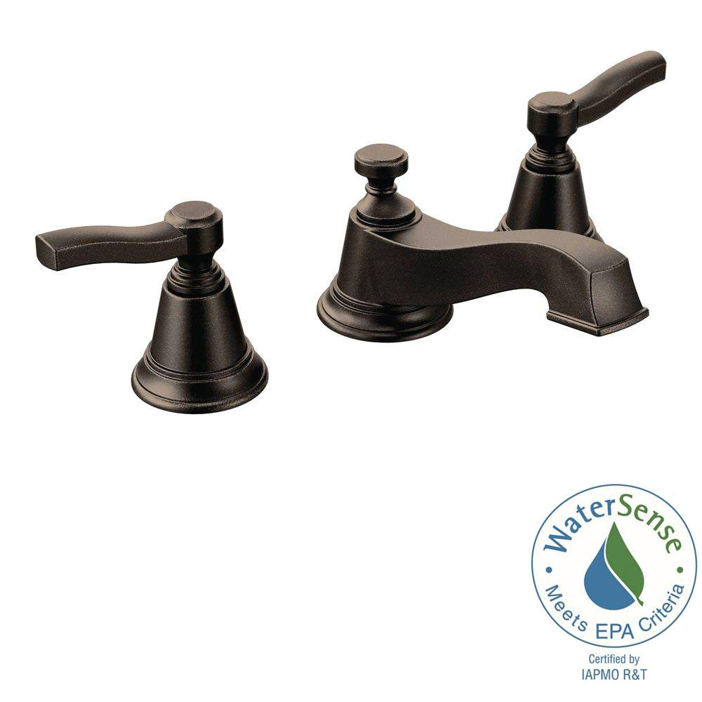 Rothbury 8 in. Widespread 2-Handle Low-Arc Bathroom Faucet Trim Kit in