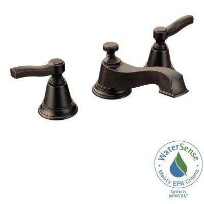 Rothbury 8 in. Widespread 2-Handle Low-Arc Bathroom Faucet Trim Kit in Oil Rubbed Bronze (Valve Not Included)