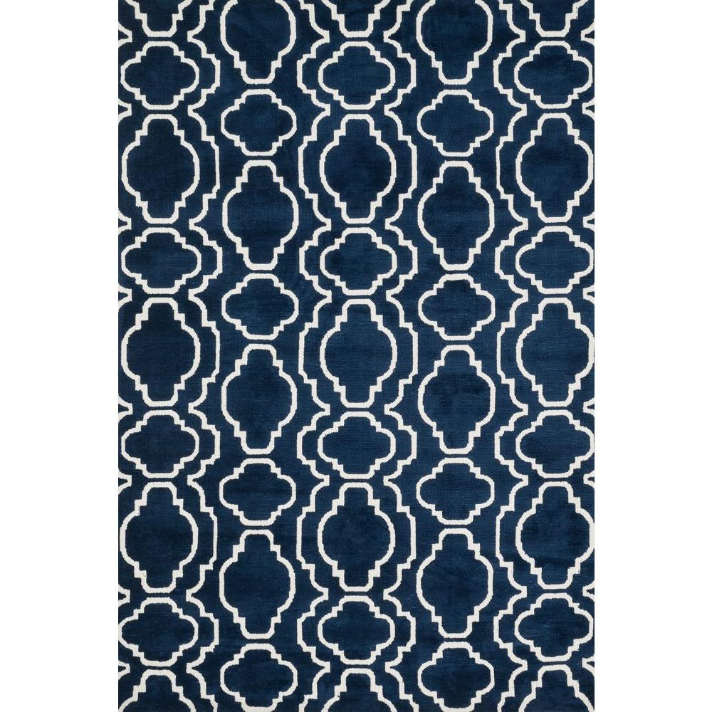 Loloi Rugs Cassidy Lifestyle Collection Navy 7 ft. 6 in. x 9 ft. 6 in. Area Rug