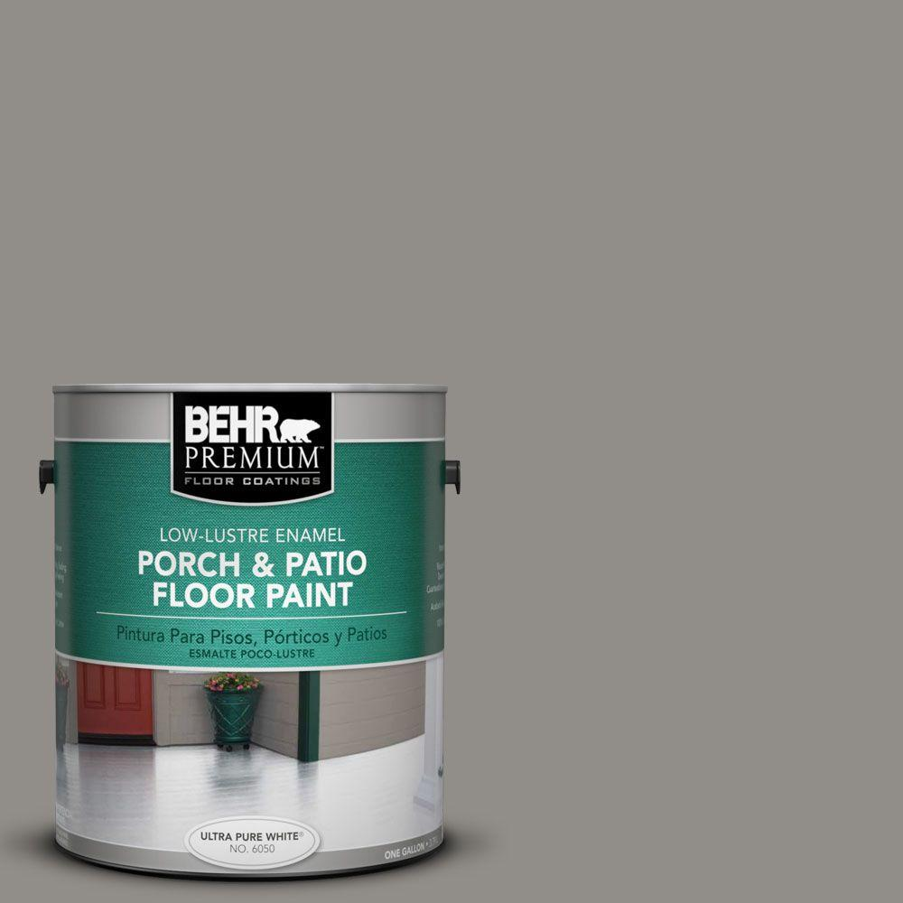 BEHR Premium 1 gal. #PFC-69 Fresh Cement Low-Luster Interior/Exterior Porch and Patio Floor Paint