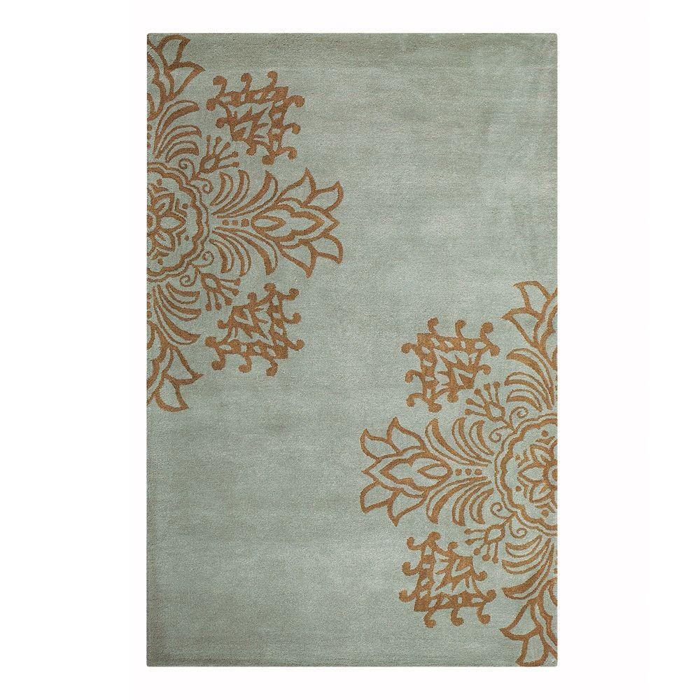 Home decorators collection tempo blue 9 ft 6 in x 13 ft for Home decorators sumba rug