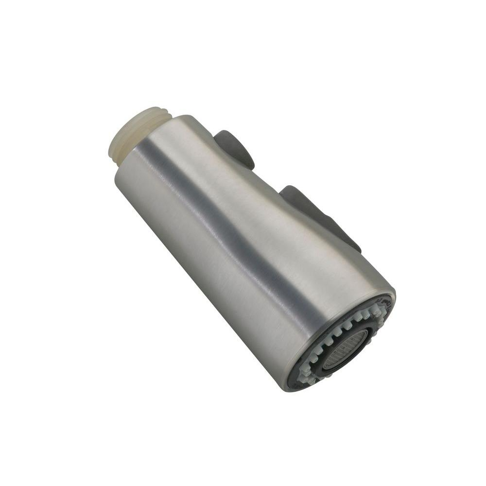 Kohler Simplice Pull Out Spray Head In Stainless Steel Gp1043211 Vs The Home Depot