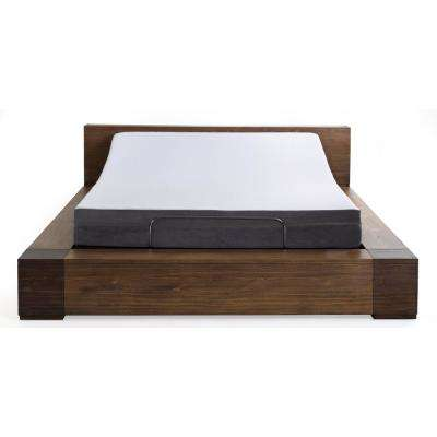 8 in. Daisy Queen Memory Foam Mattress and M1500 Adjustable Base Set