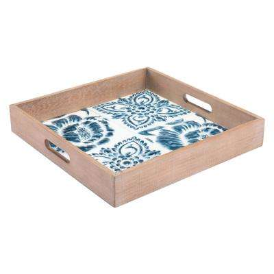 Florence Blue and White Tray