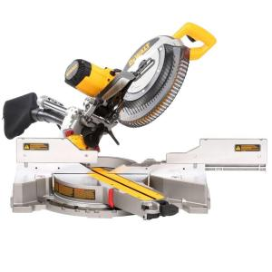 dewalt miter saws dws780 64_300 dewalt 15 amp 12 in double bevel sliding compound miter saw  at soozxer.org
