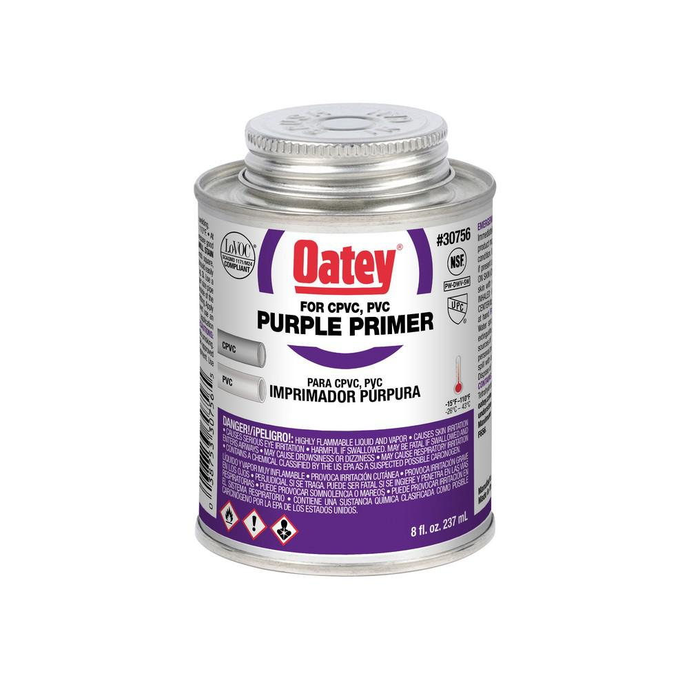 Oatey 8 oz. PVC and CPVC Purple Primer