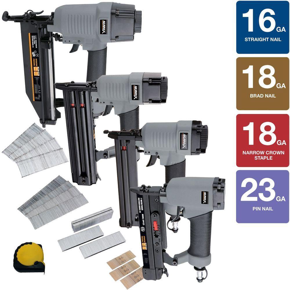 NuMax - Nail Guns & Pneumatic Staple Guns - Air Compressors, Tools ...