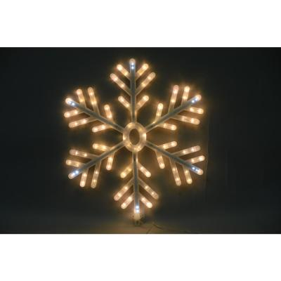 23 in. Candy Cane Lane Snowflake Yard Décor