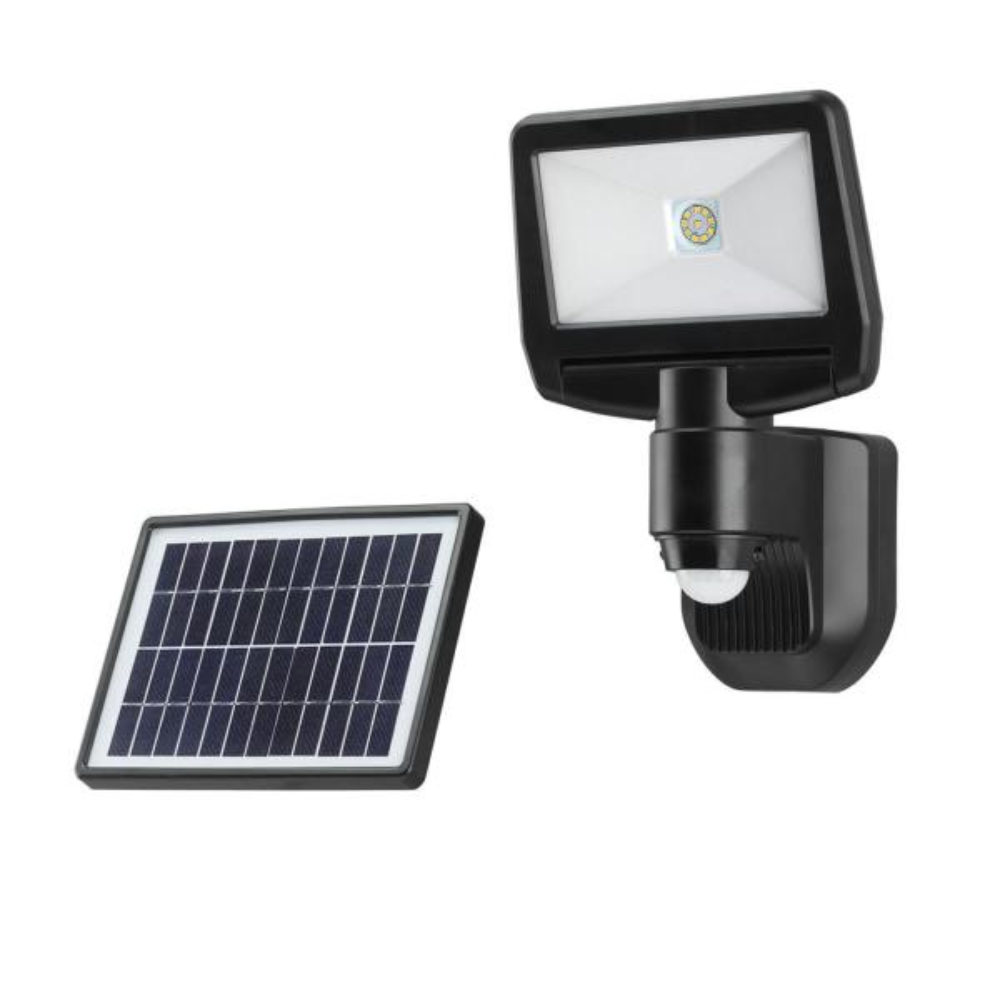 Garden Solar Powered Motion Activated Sensor Security Light Recharagble Battery