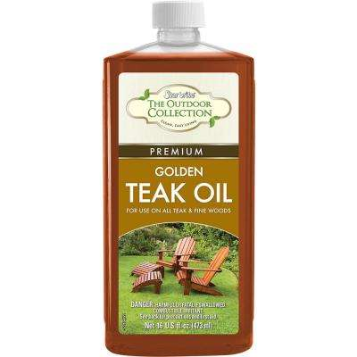 16 oz. Premium Golden Teak Oil