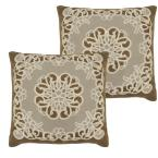 Gretta Natural Standard Pillow Cover (Set of 2)