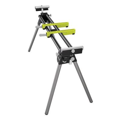 Stationary Miter Saw Stand with Tool-Less Height Adjustment