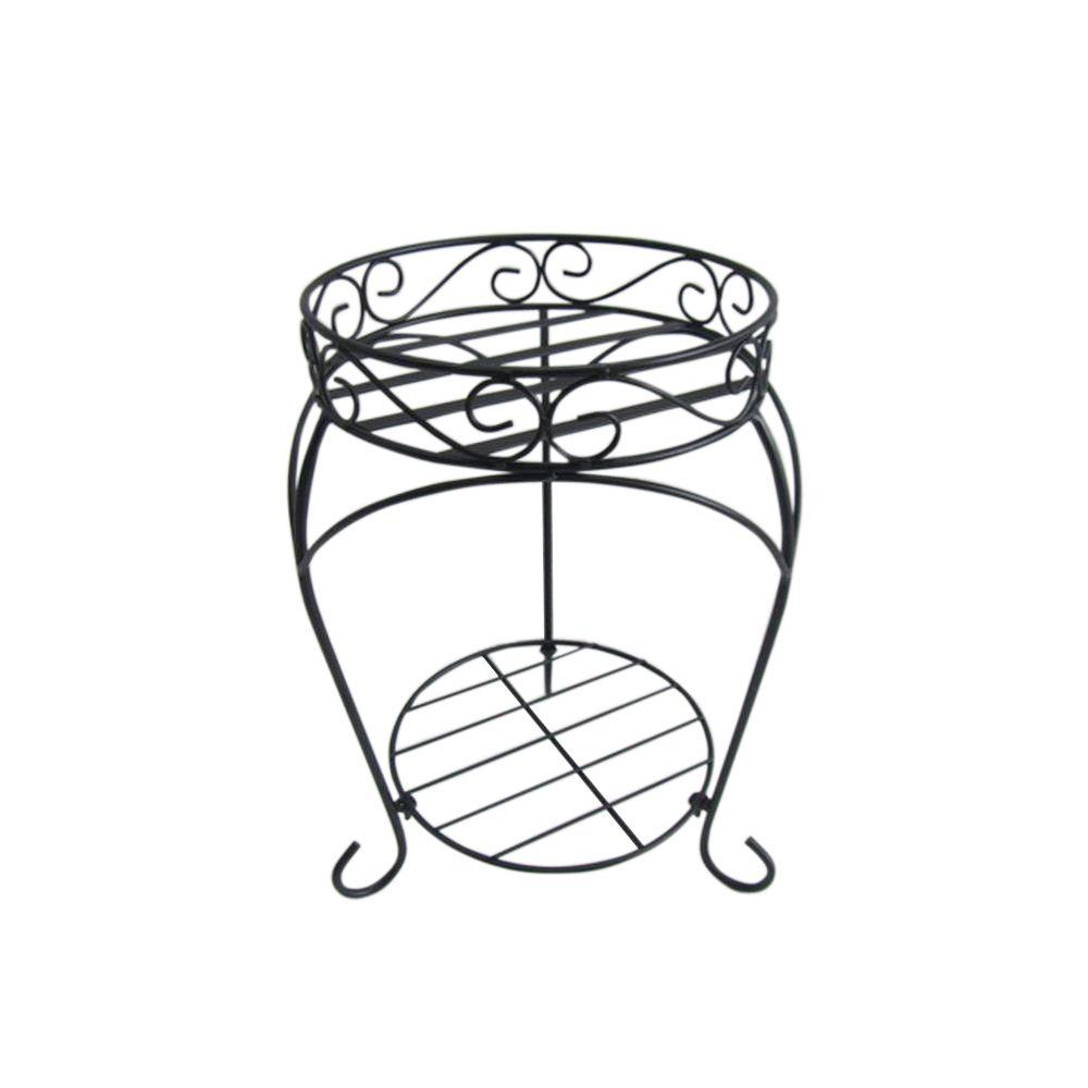 Vigoro 16 in. Iron Plant Stand