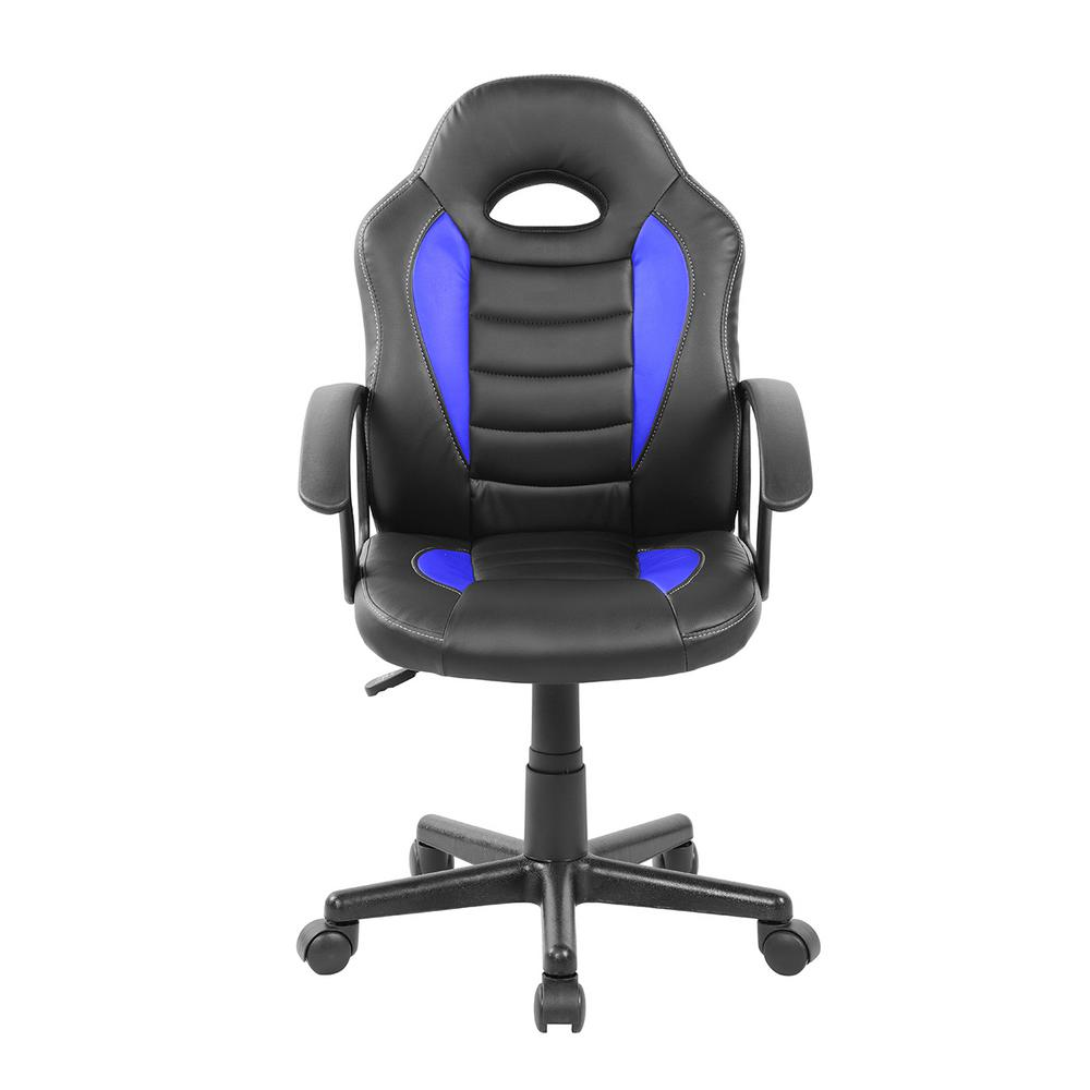 Peachy Techni Mobili Blue Kids Gaming And Student Racer Chair With Ncnpc Chair Design For Home Ncnpcorg