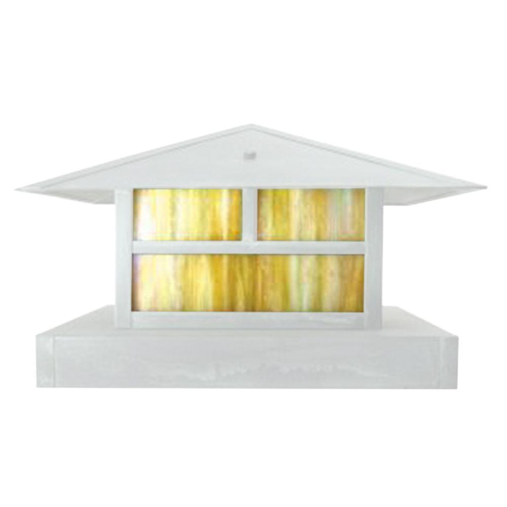 Centennial 1-Light Outdoor LED White Textured Area Light