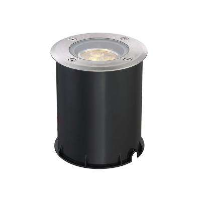 6-Watt Stainless Steel Outdoor Integrated LED Landscape Well Light