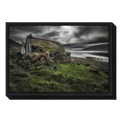 """Turf and Stones"" by Bragi Ingibergsson - Framed Canvas Wall Art"